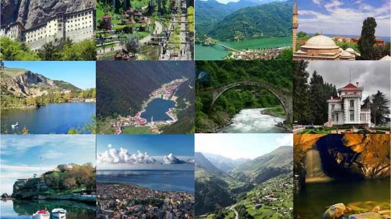 Trabzon Gezi Rehberi, Karadeniz Turu Seyahat