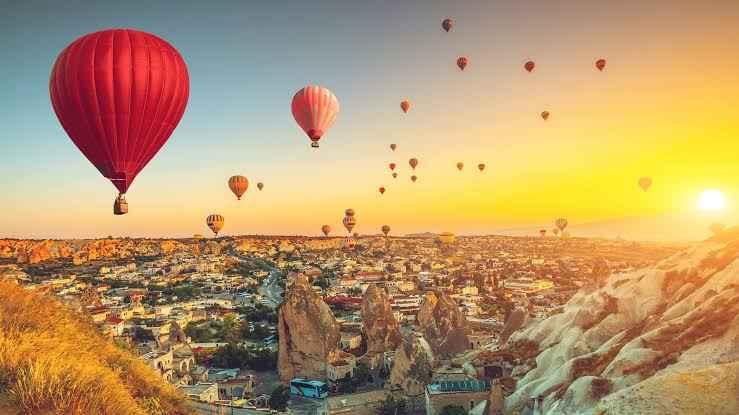 Güzel Bir Gezi ve Tatil Hayali Olanlar İçin. Cappadocia / Nevşehir