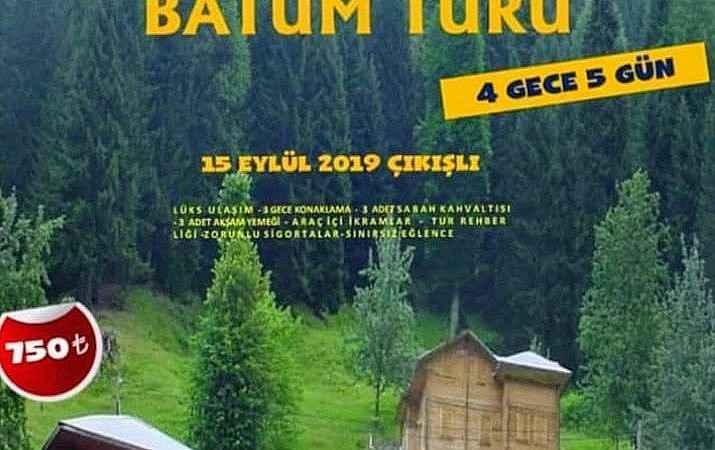 GAZİANTEP ÇIKIŞLI KARADENİZ VE BATUM TURU 2019